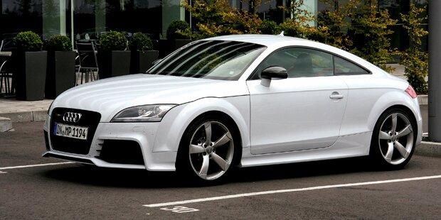 Dieb stahl Audi TT für Arbeitssuche