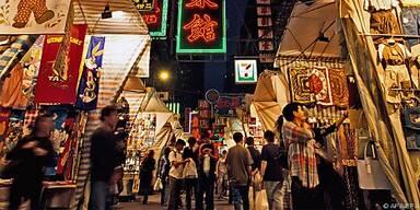 Auf Hongkongs Märkten ist immer etwas los