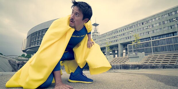 Superhelden-Dreharbeiten in St. Pölten