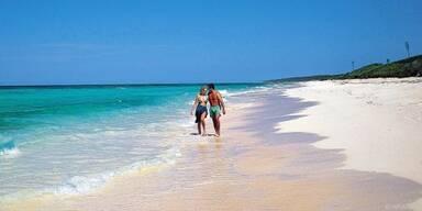 Auslandsreisende bevorzugen einen Badeurlaub