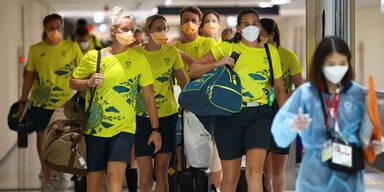 Corona: Gesamtes Australien-Team in Quarantäne