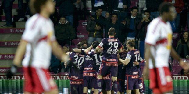 3:0! Austria führt Meister Salzburg vor