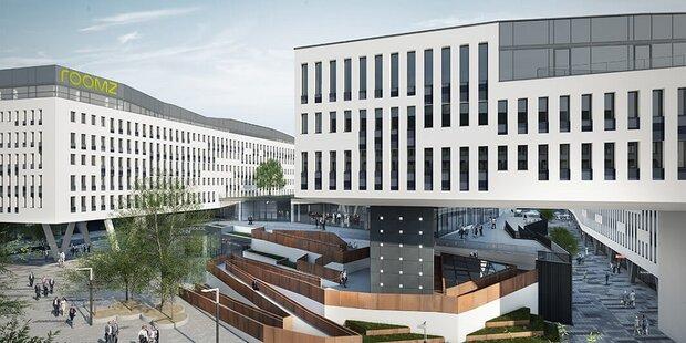 Austria Campus punktet mit Top-Mietern