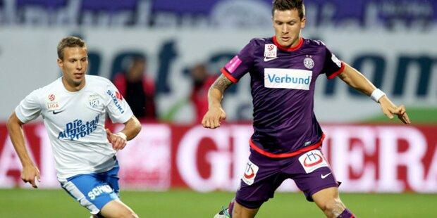 2:3! Austria blamiert sich gegen Grödig