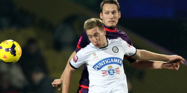 Austria setzt sich gegen Sturm Graz mit 3:2 durch