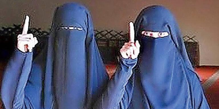 Jihad-Bräute (15 und 19) aus U-Haft entlassen