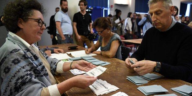 Wahl-Beteiligung in Frankreich extrem gering