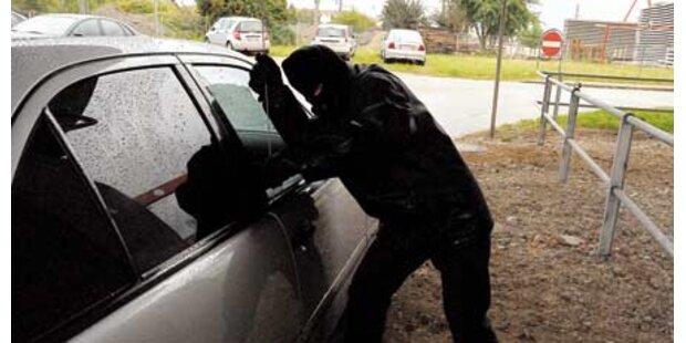 Autodieb attackiert zwei Lenker