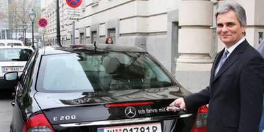 Regierung liebt Luxus-Autos