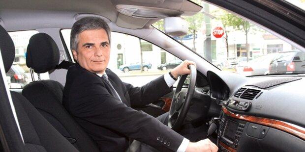 105 neue BMW für Minister