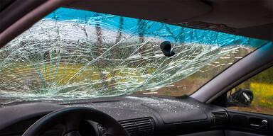 kaputtes Autofenster