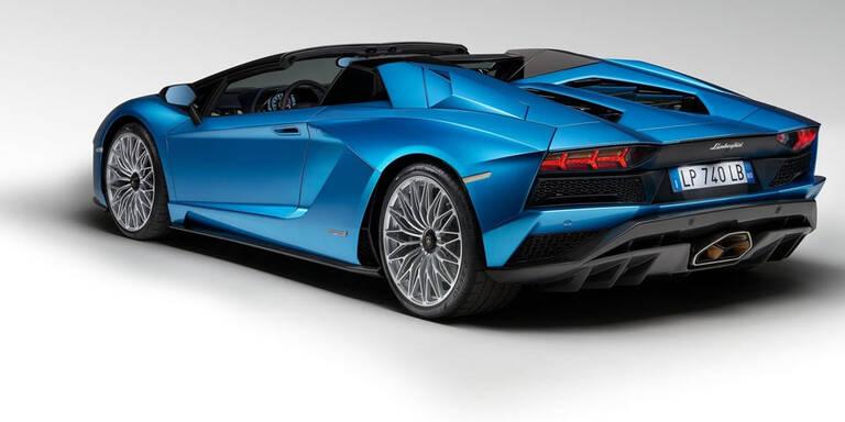 So kommt der Aventador S Roadster