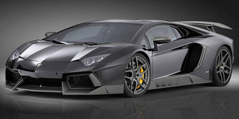 Lamborghini Aventador von Novitec