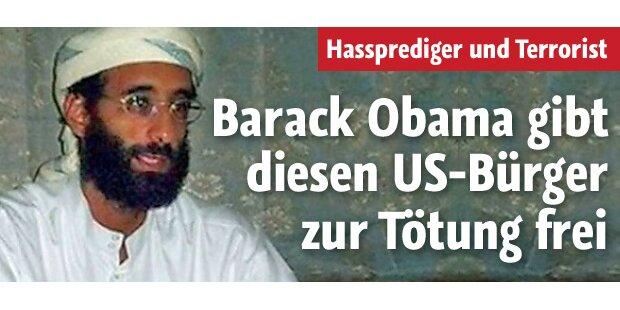Obama gibt US-Bürger zum Abschuss frei