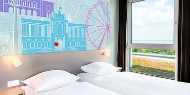 B&B Hotels Meidling Zweibettzimmer