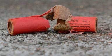 22-Jähriger durch Böller schwer verletzt