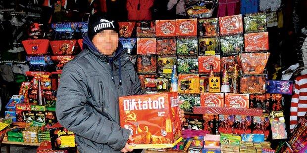 Böller: Strafen bis zu 3.600 Euro