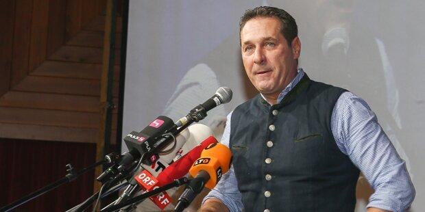 FPÖ-Aschermittwoch: Strache zieht über alle her