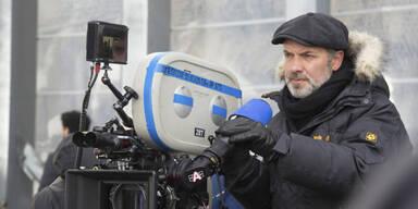 Sam Mendes beim Bond-Dreh