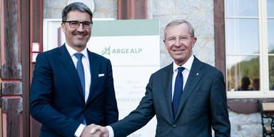 Vorsitz Alpenländer Haslauer