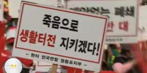 Sex-Arbeiterinnen protestieren in Südkorea