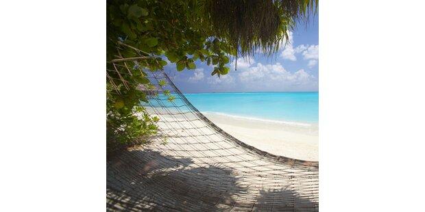 Urlaub auf einsamer Insel