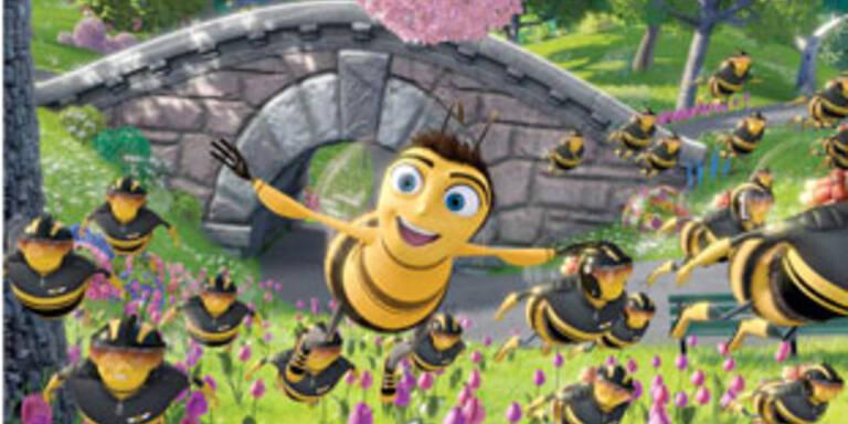 Flotte Bienen im Anflug