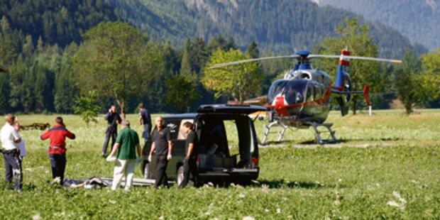 Toter Pilot nach Absturz geborgen