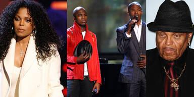 BET Awards: Janet Jackson, Ne-Yo, Jamie Foxx, Joe Jackson