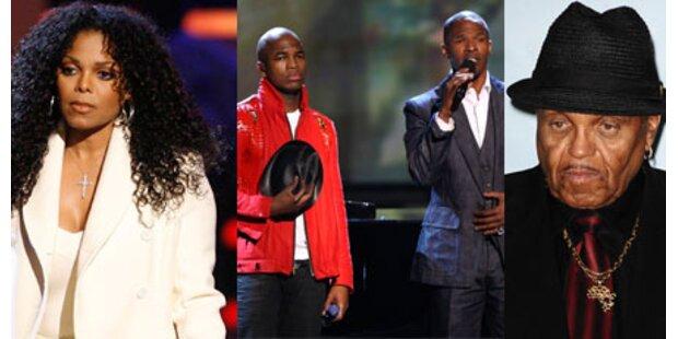 Gedenken: Künstler ehrten Jackson