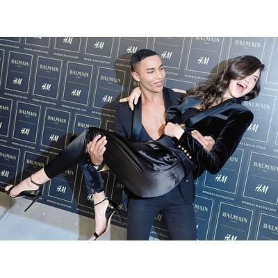 Balmain x H&M Fashion-Event in New York