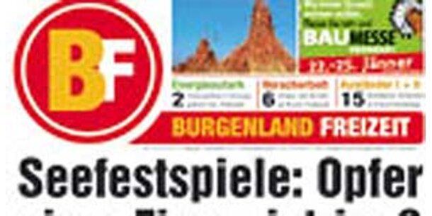 """Aus für Burgenländische Wochenzeitung """"BF"""""""