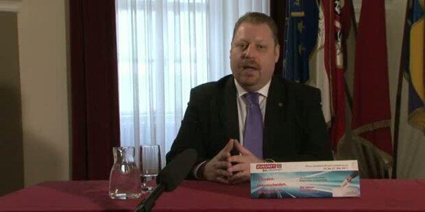 SPÖ-Stadtchef Bernhard Müller auf Youtube