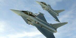 Zwei Eurofighter in Deutschland abgestürzt