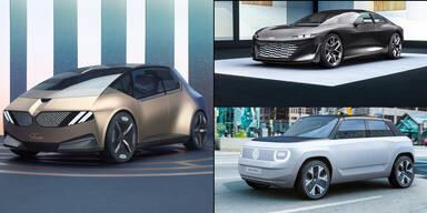 Die IAA-Neuheiten von Audi, BMW und VW