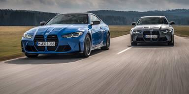 BMW M3 und M4 jetzt auch mit Allrad