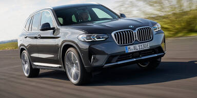 BMW verpasst X3 und X4 ein Facelift