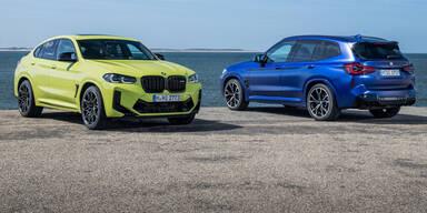 BMW frischt den X3 M und den X4 M auf