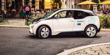 Share Now in Wien mit 120 Elektroautos