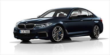 BMW bringt stärksten 5er-Diesel aller Zeiten
