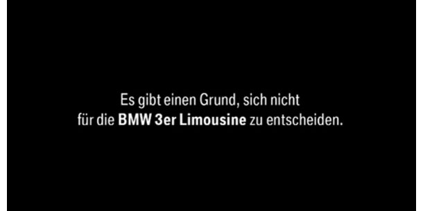 Dilemma der BMW-Fahrer
