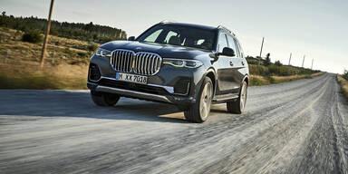 BMW X7 ist günstiger als der 7er