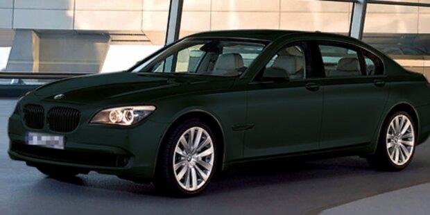 Billig-BMW's für die Regierung