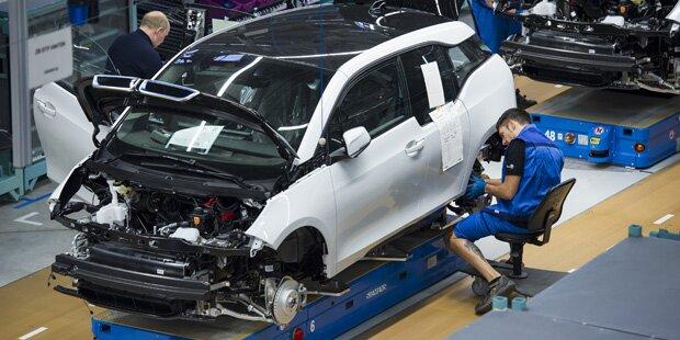 Zwei BMW-Arbeiter zugedröhnt: Millionenschaden