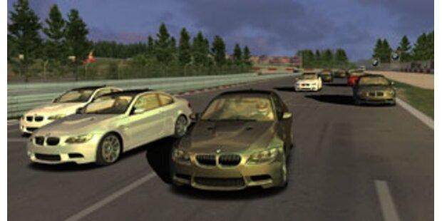 Tolles Gratis-Computerspiel von BMW
