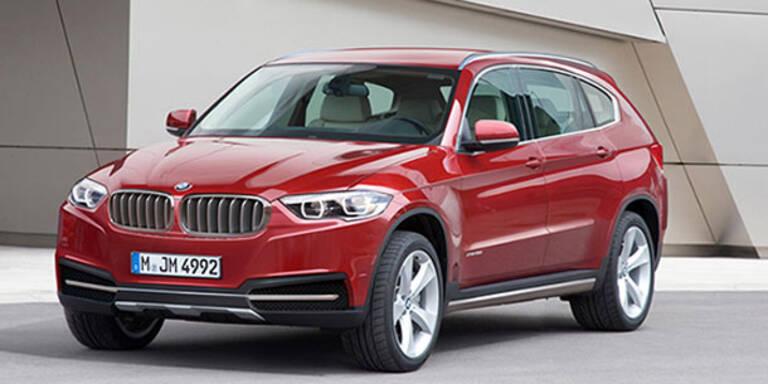 X7 kommt: BMW greift bei SUVs voll an