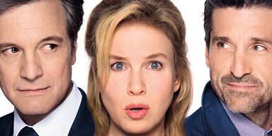 """Bridget ist wieder da! Zwölf Jahre, nachdem Dauer-Single Bridget Jones (Renée Zellweger) ihrem Mark Darcy (Colin Firth) in """"Am Rande des Wahnsinns"""" zum zweiten Mal in die Arme sank, erfährt die Welt endlich, wie es weitergegangen ist mit dem ungleichen Traumpaar. Der Titel """"Bridget Jones' Baby"""" lässt schon vermuten, in welche Richtung sich die Geschichte weiterentwickelt. Bridget ist schwanger. Aber wer ist der Vater? Mark ist zwar im Rennen, aber nicht der einzige Kandidat. Das Traumpaar ist nämlich getrennt und Bridget hat mit Jack (Patrick Dempsey) einen beinahe ebenbürtigen Konkurrenzkandidaten an Land gezogen. Dempsey (""""Grey's Anatomy"""") ersetzt im dritten Bridget-Teil Hugh Grant als ewigen Nebenbuhler."""