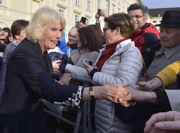 Herzogin Camilla in Wien