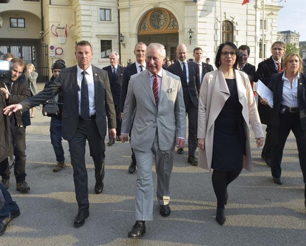 Prinz Charles in Wien