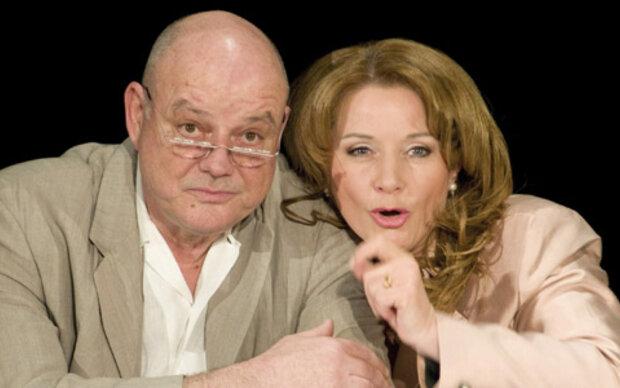 Wolfgang Böck und Gabriela Benesch im Doppeltalk